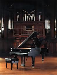 Steinway grand pianos